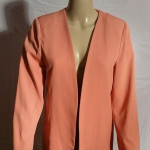 Bar III Peach Jacket Size L
